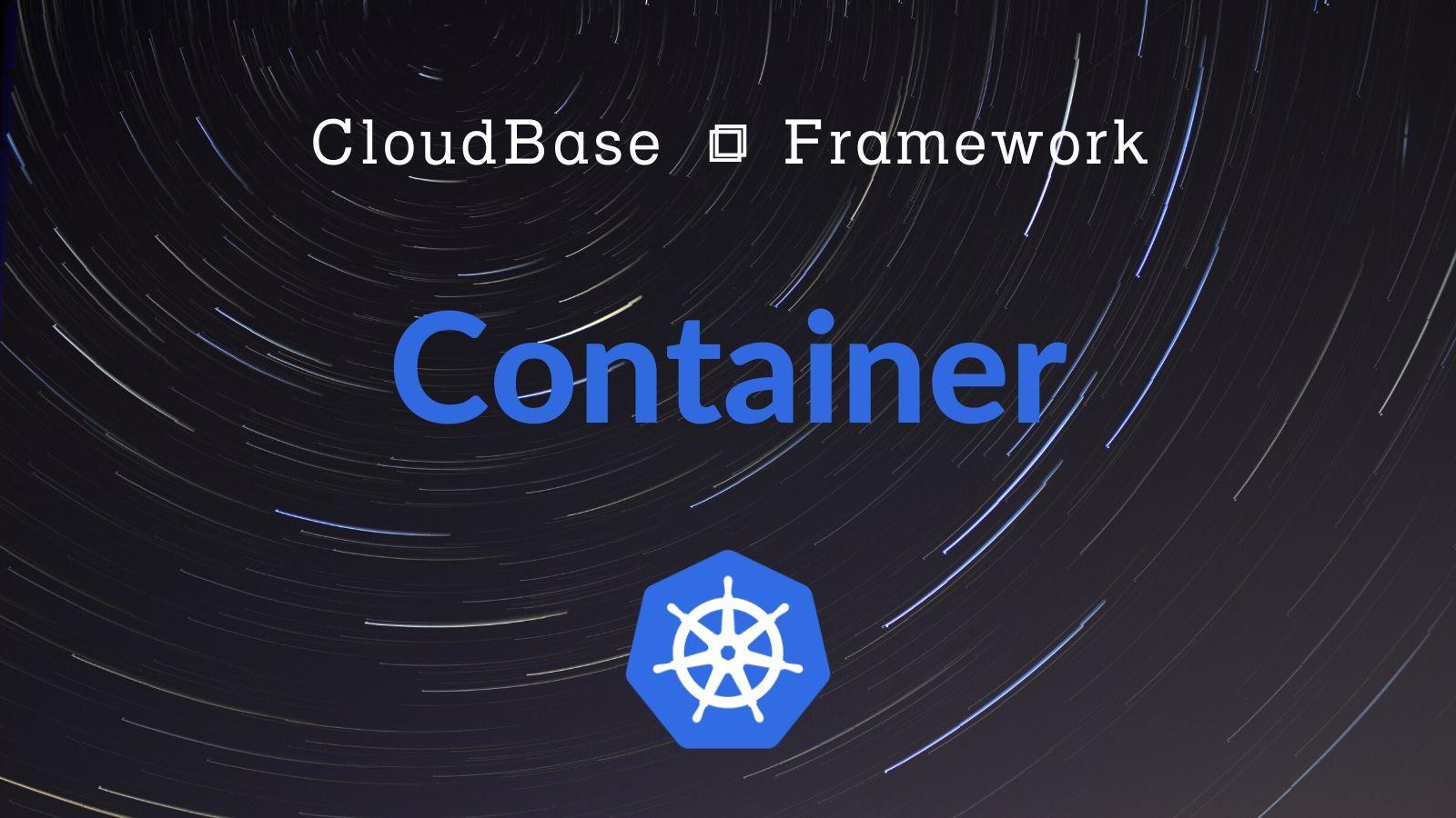 Tencent CloudBase Framework Container Plugin