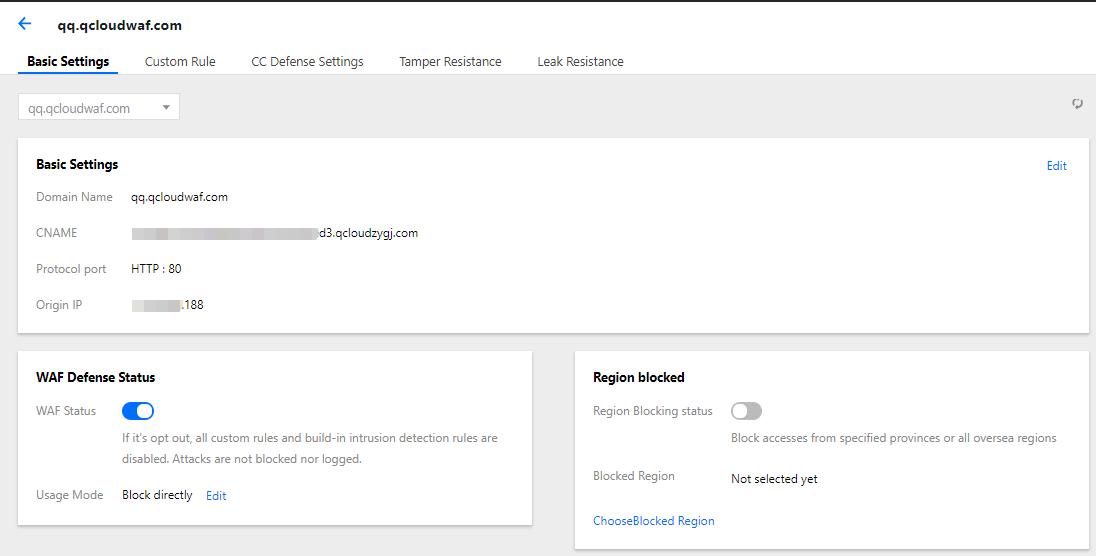 Add a domain name