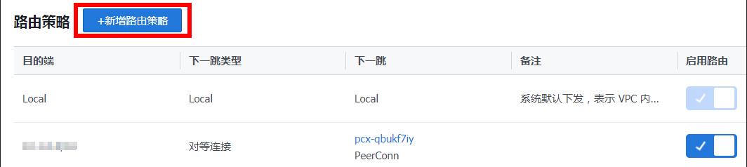 腾讯云同账号创建对等连接通信